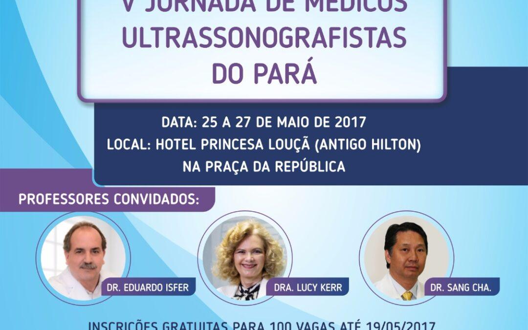 V Jornada de Médicos Ultrassonografistas do Pará
